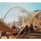 Great Flight Cage Birds National Zoo Washington DC Nilon Bros Vntg Postcard