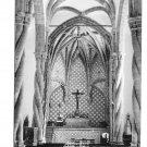 RPPC Portugal Setubal Igreja de Jesus Church Altar Glossy 4X6 Postcardg