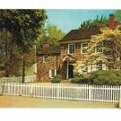 PA Valley Forge National Park George Washingtons Headquarters Jack Freeman Postcard