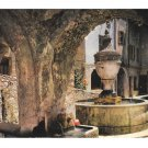 France Riviera Cote D Azur Saint Paul Provincial Fountain Vntg 4X6 Postcardreeman Postcard