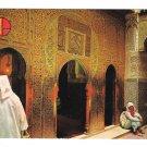 Morocco Sanctuary of Moulay Idriss II Portal IX Century Fez Medina Vntg 4X6 Postccard