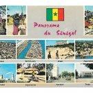 Africa Panorama Au Senegal Multiview 11 City Town Views 4X6 Postccard