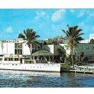 Creightons Restaurant Fort Lauderdale Florida Inland Waterway Postcard
