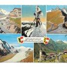 Austria Alps Grossglockner Hochalpenstrasse Tyrol Mountains Multiview 4X6 Postcard