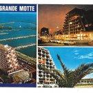 France La Grande Motte Herault Pyramid Buildings and Port 4X6 Postcard Multiview