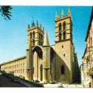 France Montpellier Cathedral Saint Pierre E.K.B. 3312 YVON Vintage 4X6 Postcard