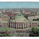 Austria Wien Vienna Burgtheater Birds Eye Aerial View Posted 1968 Postcard 4X6ve Bill Bard Postcard
