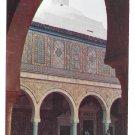 Africa Kairouan Tunisia Barber Mosque Arches Islam 4X6 Postcard