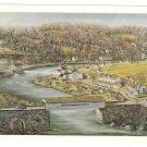 Henry Clay Village Hagley Museum Painting Artist Frank Jefferis 4X6 Postcard