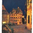 Germany Nuremberg Nurnberg Albrecht Durer Haus House Night View 4X6 Postcardcard