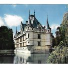 France Chateau Azay le Rideau on Indre River Loire Valley Artaud Freres 4X6 Postcard