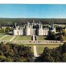 France Chambord Chateau de la Loire Birds Eye View Artaud Freres Postcard 4X6