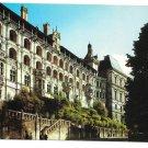 Loire Valley France Blois Chateau Facade de Loges Valoire 4X6 Postcard