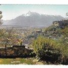 Austria Alps Untersberg und Hohensalzburg Fortress from Kapuzinerberg 4X6 Postcard