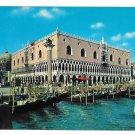 Italy Venezia Venice Doges Ducal Palace on Canal 4X6 P Marzari S.R.L. Postcard