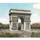 France Paris Place L:Arc de Triomphe de L'Etoile Art D' GUY 4X6 Postcard