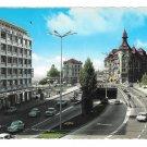 Switzerland Lausanne Place Chauderon Maison du Peuple City View Posted 1968 Postcardstcard