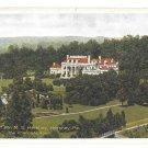 Hershey PA Home Milton S Hershey The Chocolate Town Vintage Halftone Postcard