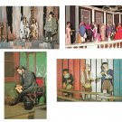 American Wax Museum Phila PA Spirit 76 Lincoln Penn Treaty Inaugural Ball 4 Postcards