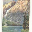 Italy Bolzano Pragser Wildsee Seekofel Deutscher Schulverein 414 Jaffe Vtg Postcard