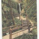UK England Shanklin Chine Isle of Wight Bridge Vtg J Welch Postcard c1910Vntg UND Thayer Postcard