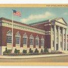 NY White Plains New York Post Office Curteich 1935 Linen Vintage Postcard