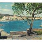 Spain Costa Brava Cadaques Rocamar Hotel View from the Parque 4X6 Postcard