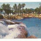 Mexico Acapulco Princess Hotel Swimming Pool Waterfall Vintage Postcard