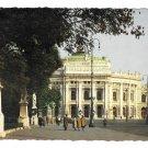 Austria Wien Burgtheater Vienna Imperial Theatre Entrance Sculpture Walway 4X6 Postcard