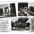 Italy Tivoli Villa D'Este Fountains Gardens Alterocca Terni Multiview 4X6 Postcard
