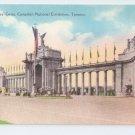 Canadian National Exhibition Princess Gates Toronto Ontario Vintage Postcard