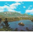 Yugoslavia Slovenia Lake Bled Island Julian Alps 4X6 Pomurski Tisk Foto Hribar Postcard