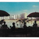 Brasil Sao Paula Praia Beach View of Pitangueiras Mercator 4X6 Vmtg Postcard
