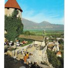 Jugoslavia Slovenia Bled Island View from Castle Pogled z Gradu Vtg 4X6 Postcard