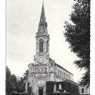 France Deauville Calvados L' Eglise St Augustin Church Vintage 4X6 G. D. Postcardard