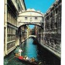 Italy Venezia Venice Bridge of Sighs Ponte Sospiri Canal Gondola ARDO Postcard