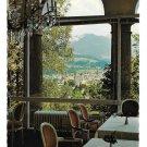 Austria Tirol Hotel Schloss Lebenberg Window View Kitzbuhel Hans Mayr 4X6 Postcard