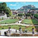 Austria Salzburg Mozartstadt Mirabell Garden Fortress Festung Hohensalzburg 4X6 Postcard