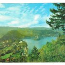 Slovenia Yugoslavia Lake Bled Town and Island Julian Alps Aerial Panorama 4X6 Postcard