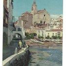 Spain Port d'Alguer Cadaques Costa Brava Catalonia 4X6 Postcard