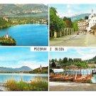 Slovenia Yugoslavia Bled Greetings Bleda Pozdrav Multiview 4X6 Fotolik Celje Postcard