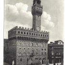 Italy Firenze Florence Palazzo Vecchio Palace Tower  ECA 4X6 Glossy Postcard