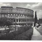 Italy Roma Coloseo Rome Coliseum Vera Fotografia Fotorapide Terni 4X6 Glossy Postcard
