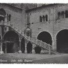 Verona Italy Scala Della Ragione Palace Stairs Giani Ferrari Glossy 4X6 Postcard
