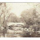Vermont Grafton Street Concrete Arch Bridge Perkinsville VT Vintage RPPC Postcard947 Postcard