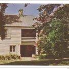VA Charlottesville Ash Lawn Kitchen Presidential Home of James Monroe Postcardrd
