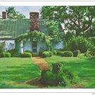 VA Charlottesville Ash Lawn Front Entrance Presidential Home of James Monroe Postcardrd