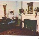 VA Charlottesville Ash Lawn Drawing Room Presidential Home of James Monroe Postcardrd