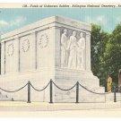 Arlington National Cemetery VA Tomb of Unknown Soldier Vntg B S Reynolds Linen Postcard