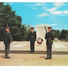 Arlington National Cemetery VA Military Guard Tomb of Unknown Soldier Postcard